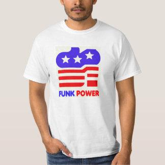 Camisa do poder T do funk Camisetas