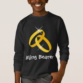 Camisa do portador de anel de Bling para miúdos