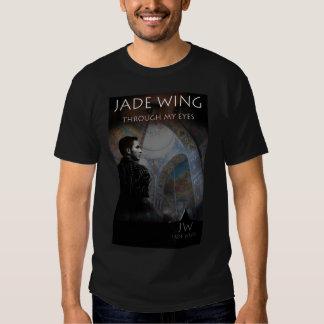 Camisa do poster da asa do jade t-shirt