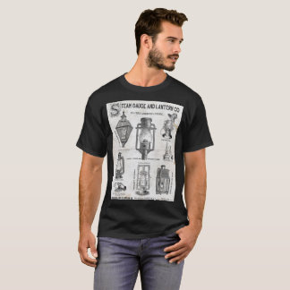 Camisa do poster da empresa da lanterna do calibre