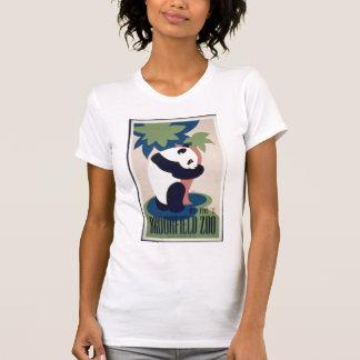 Camisa do poster do urso de panda camisetas