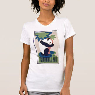 Camisa do poster do urso de panda tshirts