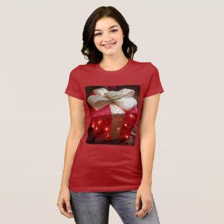 Camisa do presente de Natal da mulher