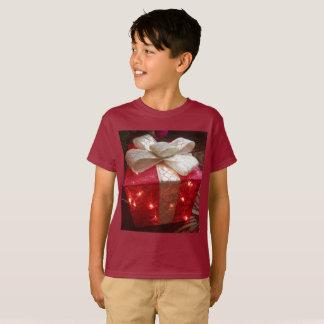 Camisa do presente de Natal das crianças