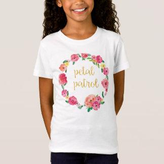 Camisa do presente do florista da patrulha da