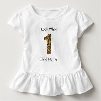 Camisa do primeiro aniversario - menina