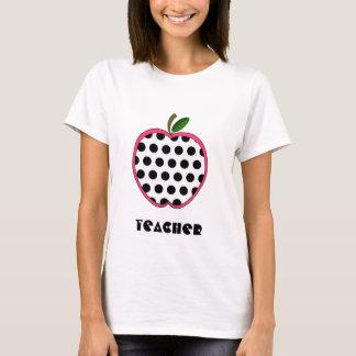 Camisa do professor - bolinhas Apple