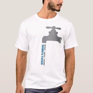Camisa do promocional do torneira dos canalizador