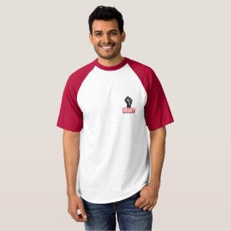 Camisa do protesto do estilo do basebol