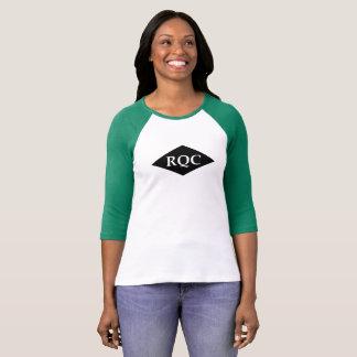 Camisa do Raglan das mulheres