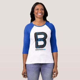 Camisa do Raglan dos canais de Birmingham