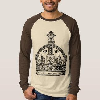 Camisa do Raglan dos homens - personalizada Camiseta