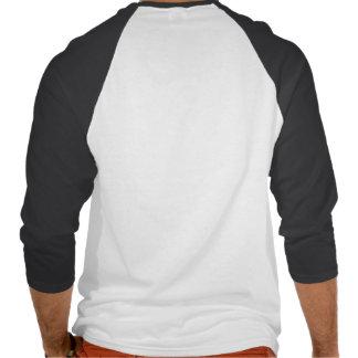 Camisa do Raglan dos homens personalizados Camiseta