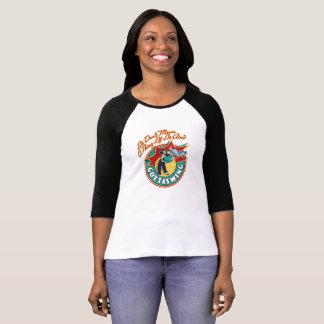 Camisa do Raglan T das mulheres