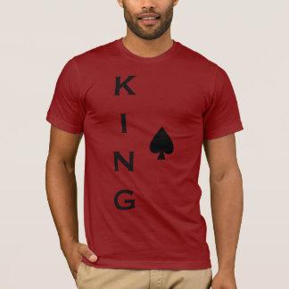 Camisa do rei Pá Vermelho T