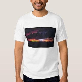 Camisa do relâmpago tshirts