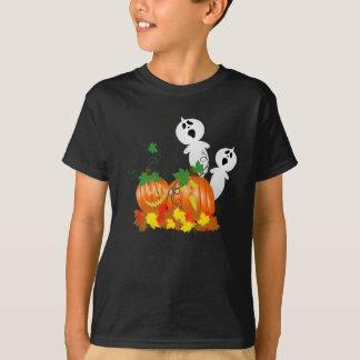 Camisa do remendo da abóbora do Dia das Bruxas
