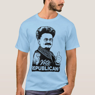 Camisa do republicano do voto de Trotsky