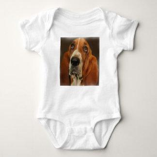 Camisa do retrato de Basset Hound
