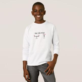 Camisa do retrocesso do golo de campo dos miúdos