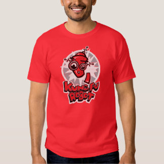 Camisa do robô de Kung Fu Camiseta