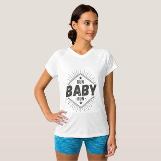 Camisa do Runing das mulheres