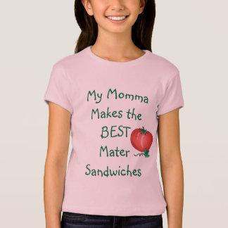 Camisa do sanduíche do Mater das meninas de MJWC