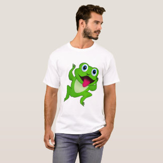 Camisa do sapo dos homens