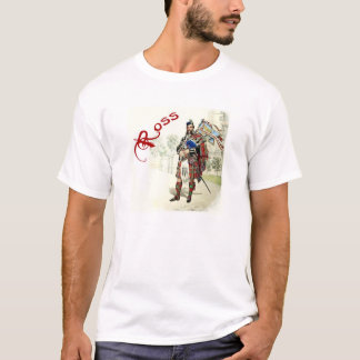 Camisa do Scottish do estilo 2 de Ross do clã
