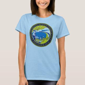 Camisa do selo da cidade de Santa Monica