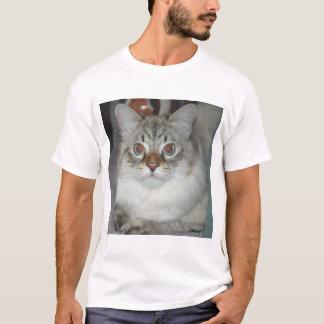 Camisa do Siberian do ponto do lince