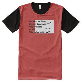 Camisa do sinal T do zodíaco: Gêmeos