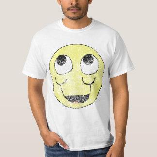 Camisa do smiley face do vintage