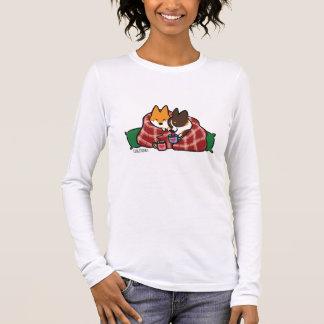 Camisa do Snuggle do Natal do Corgi