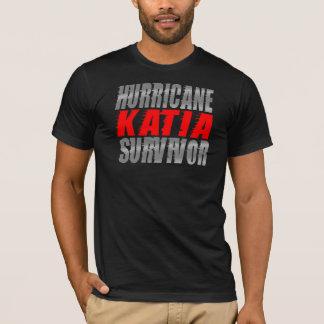 Camisa do sobrevivente de Katia do furacão