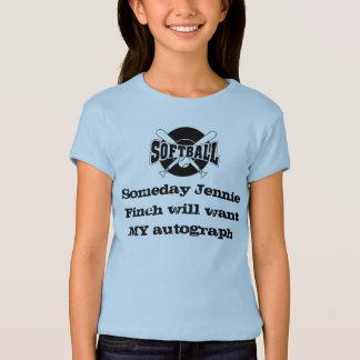Camisa do softball