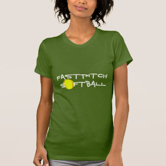 Camisa do softball de Fastpitch Tshirts