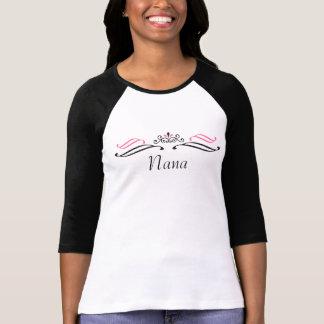 Camisa do softball do rolo da tiara de Nana