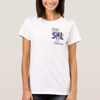 Camisa do sorriso do SHL das mulheres