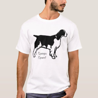Camisa do Spaniel de Springer