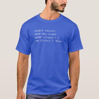 Camisa do SQL - azul