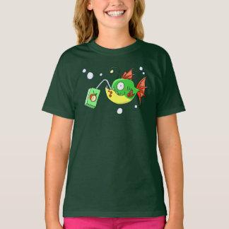 Camisa do sumo de maçã do amor dos peixes - lotes