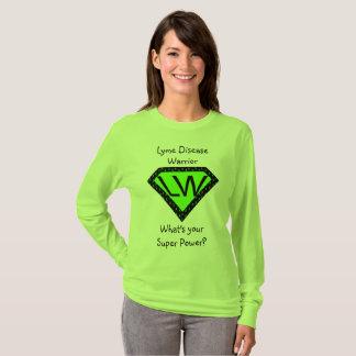 Camisa do super-herói do guerreiro da doença de