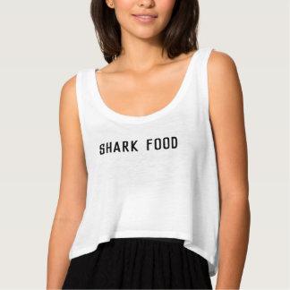 Camisa do surfista da comida do tubarão