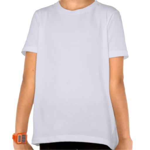 Camisa do surfista das meninas tshirts