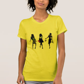 camisa do T das mulheres