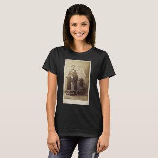 Camisa do T das mulheres da fotografia do espírito