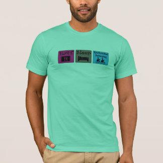 Camisa do T das mulheres da natação sincronizada