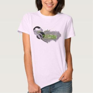 Camisa do T das mulheres da vida do Trance Camiseta