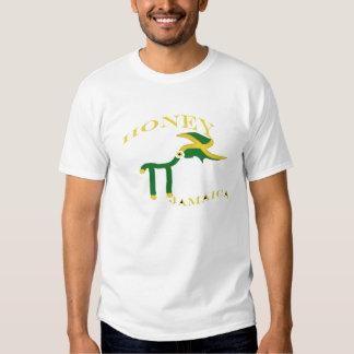 Camisa do T das mulheres de Jamaica Honeypie Camiseta